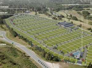 Is aged housing units par for the Cooroy course?