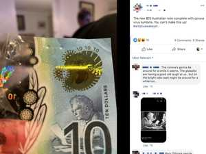 Bizarre new $10 note virus theory