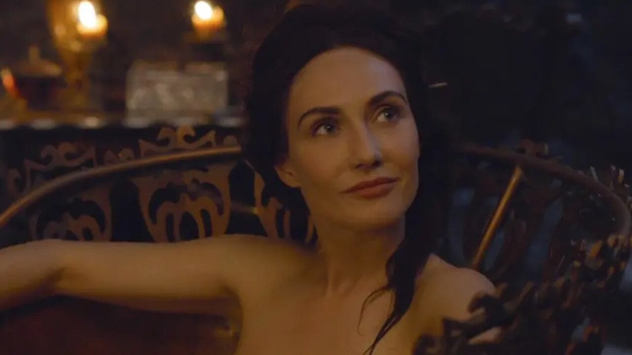 Carice van Houten frequently went nude in Game of Thrones.