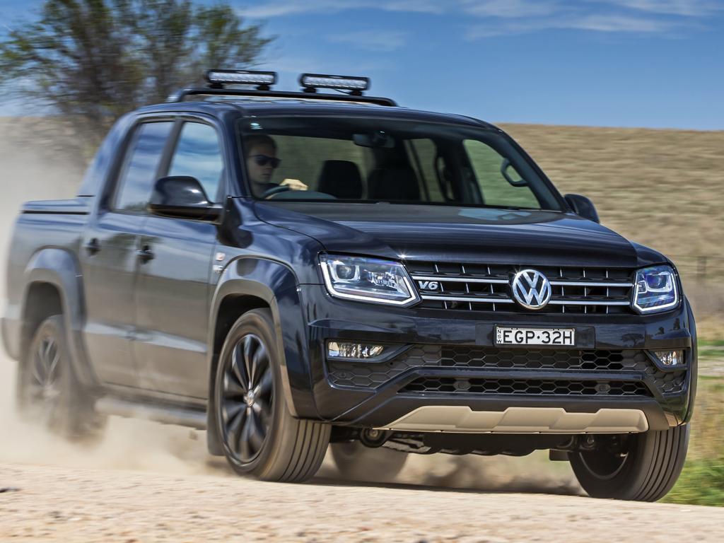 The Volkswagen Amarok V6 is on sale online too.