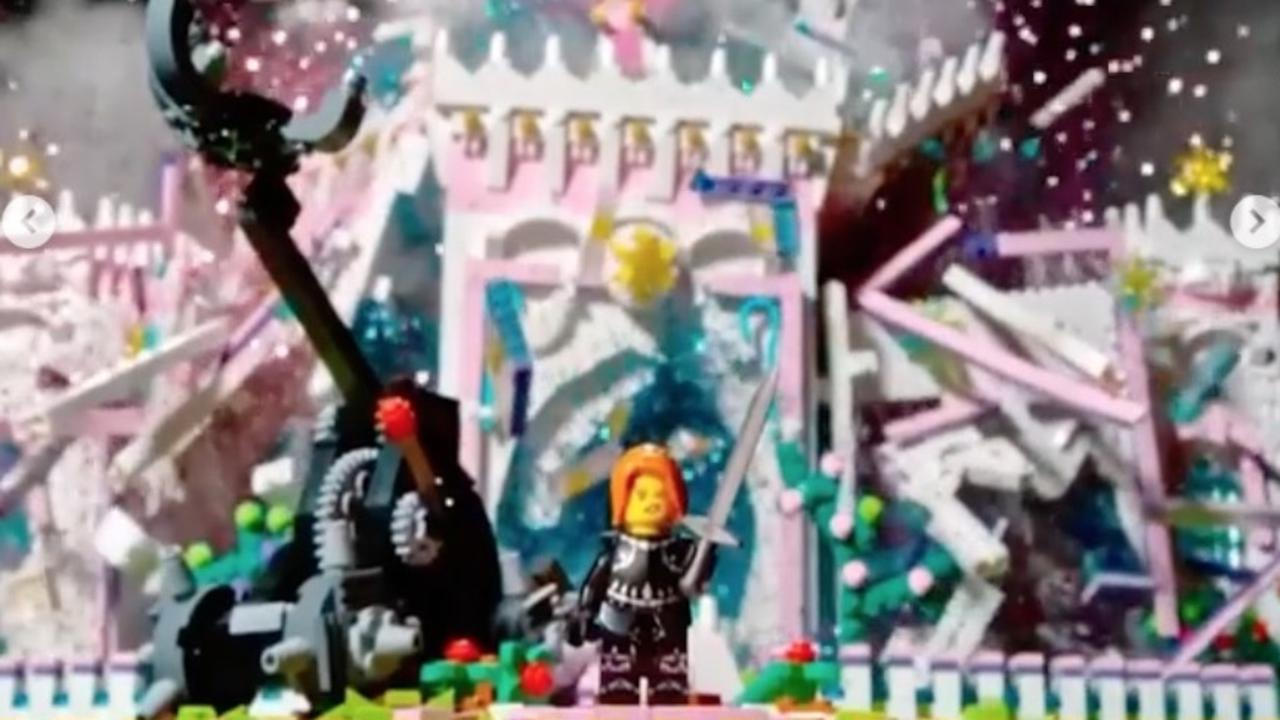 The Hero Shot challenge was a stand out of the season. Picture: Lego Masters/Channel 9
