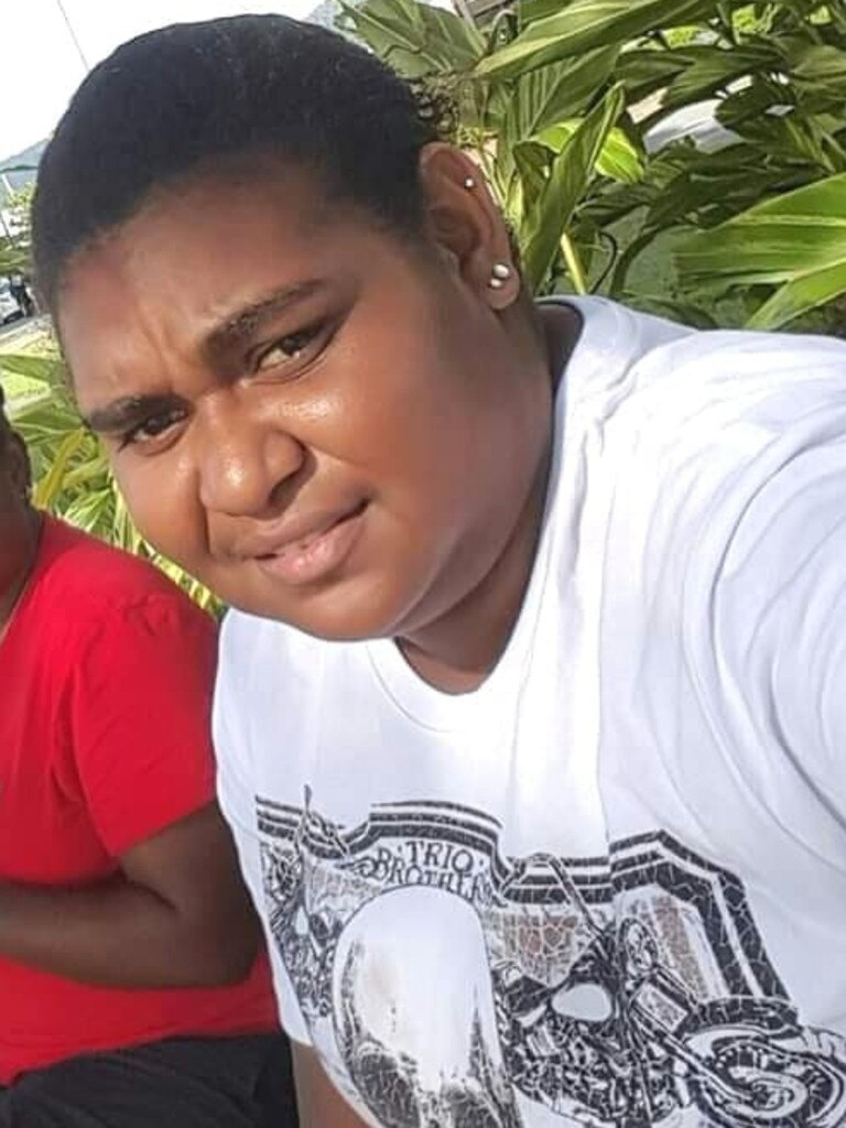 Edwina Bowie, 24, was killed on Injinoo Rd on Sunday morning.