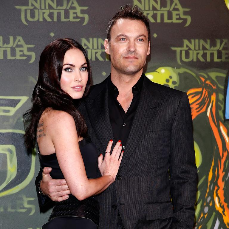 Brian Austin Green says he and Megan Fox are no longer a couple. Picture: Getty