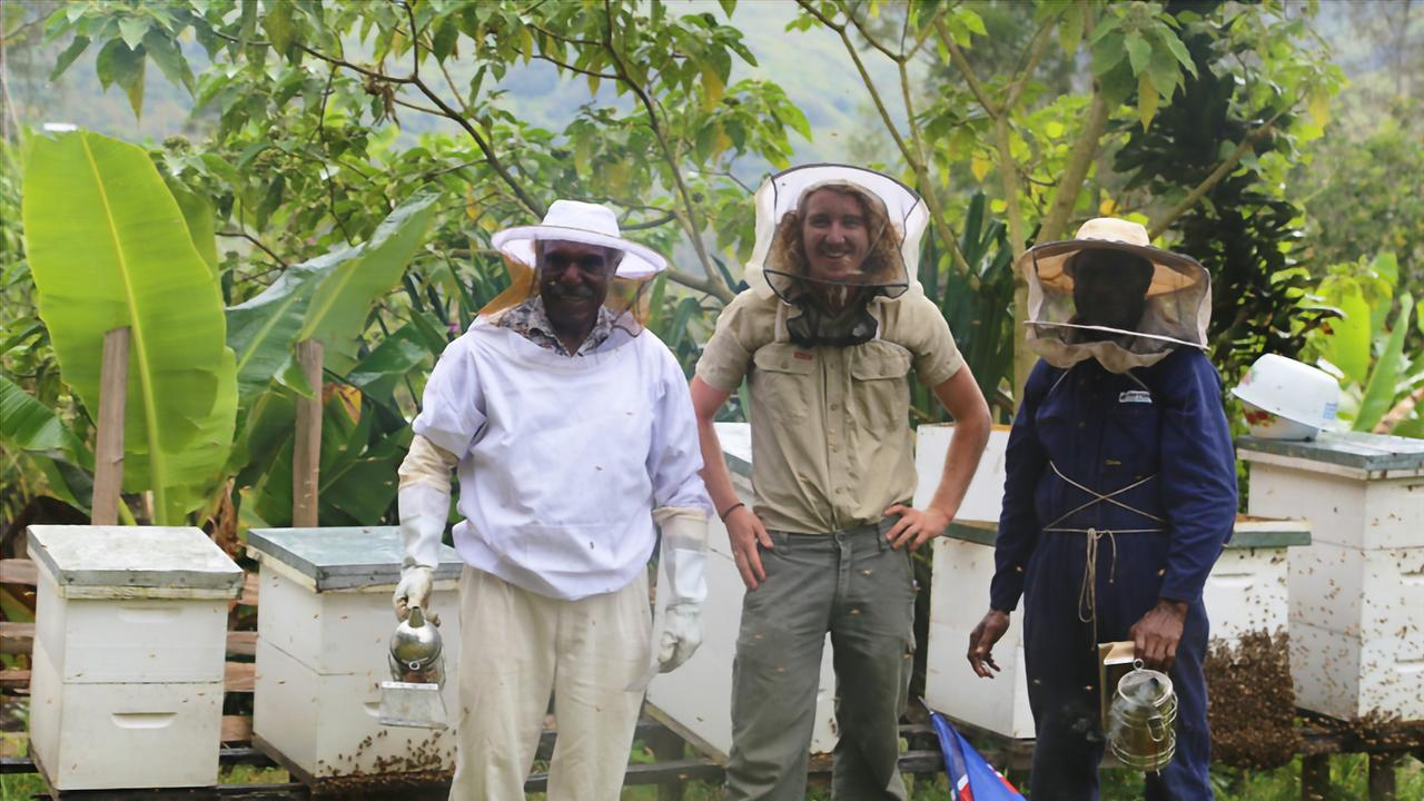 Dr Schouten is the Bees for Sustainable Livelihoods (B4SL) project manager at Southern Cross University.