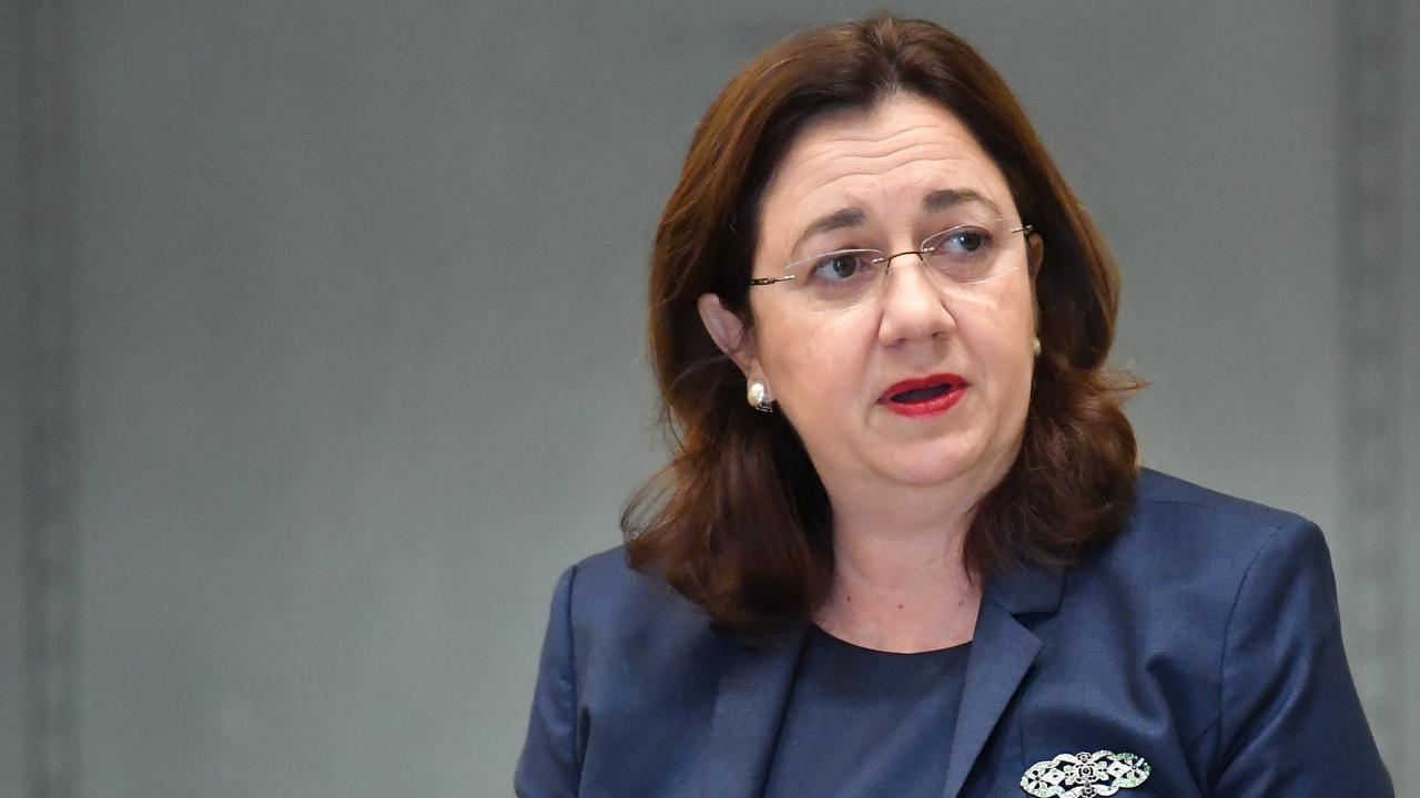 Premier Annastacia Palaszczuk says Queensland's recovery from the COVID-19 pandemic will rely on the public and private sectors working together. Picture: Darren England