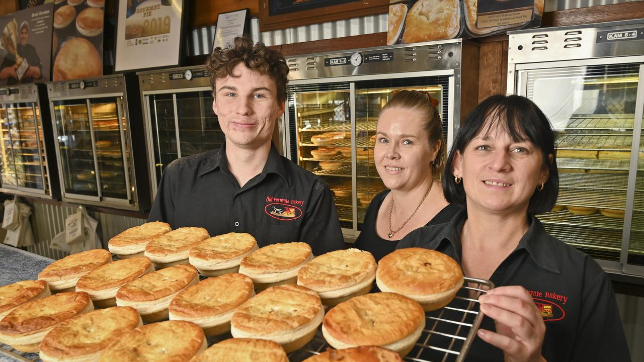 Patrick Graham, Pauline Weil and Gail Kirk of the Old Fernvale Bakery Picture: Cordell Richardson