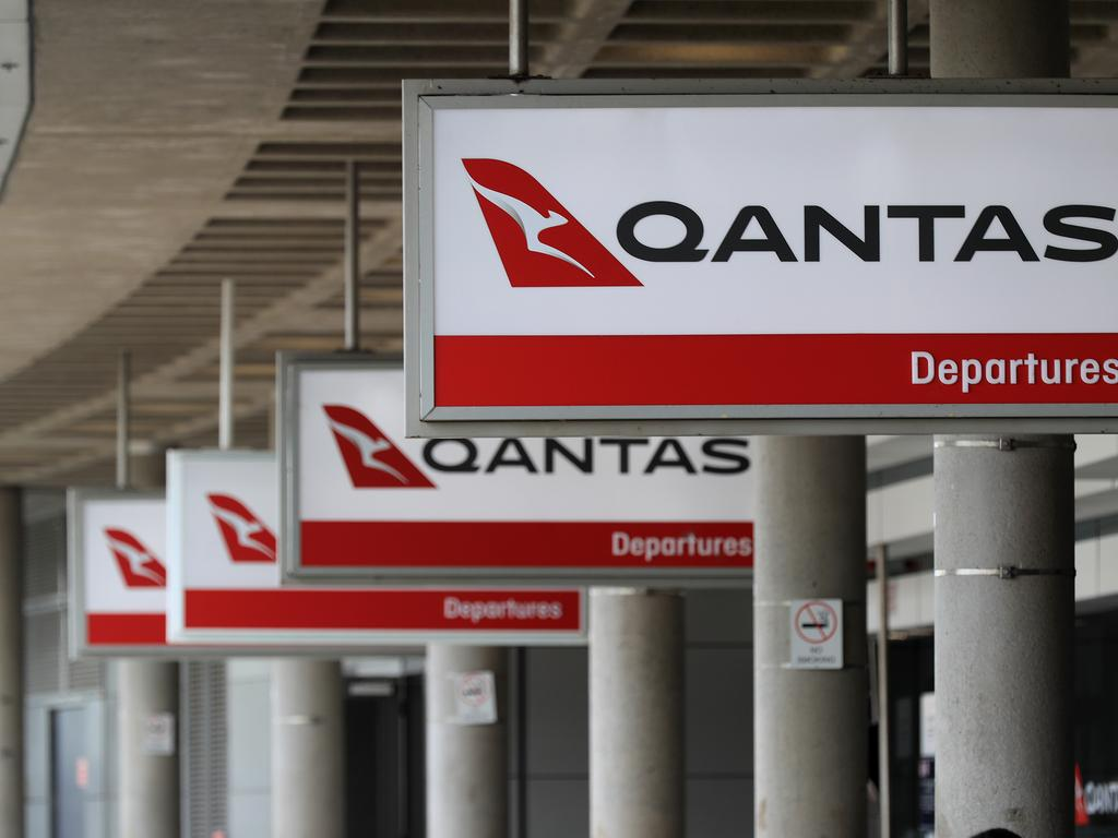 Qantas passengers will face differences to checking in pre-flight. Picture: Adam Head