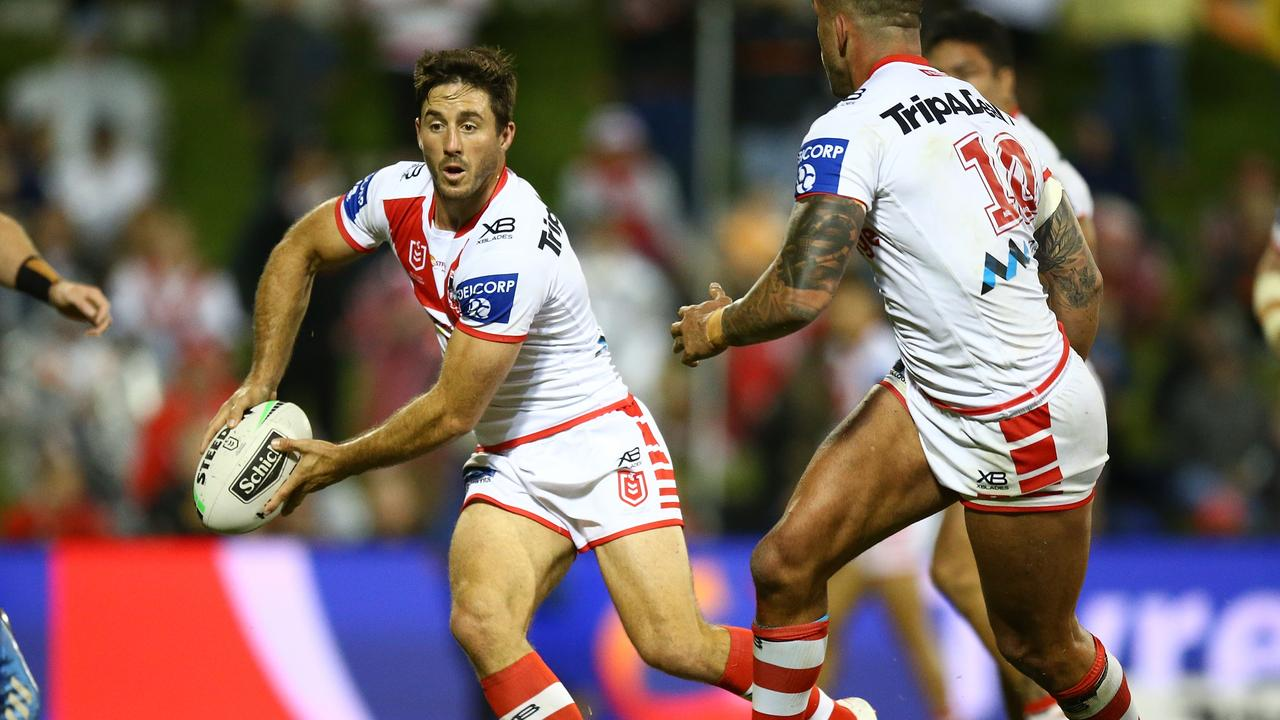 Ben Hunt says he will take a pay cut if it helps keep the game going. Picture: NRL Photos.
