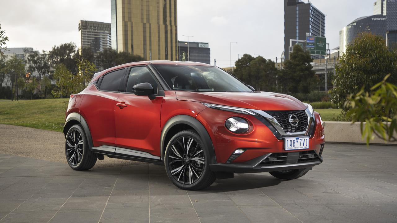 Nissan's all-new Juke is due to land in showrooms next month.