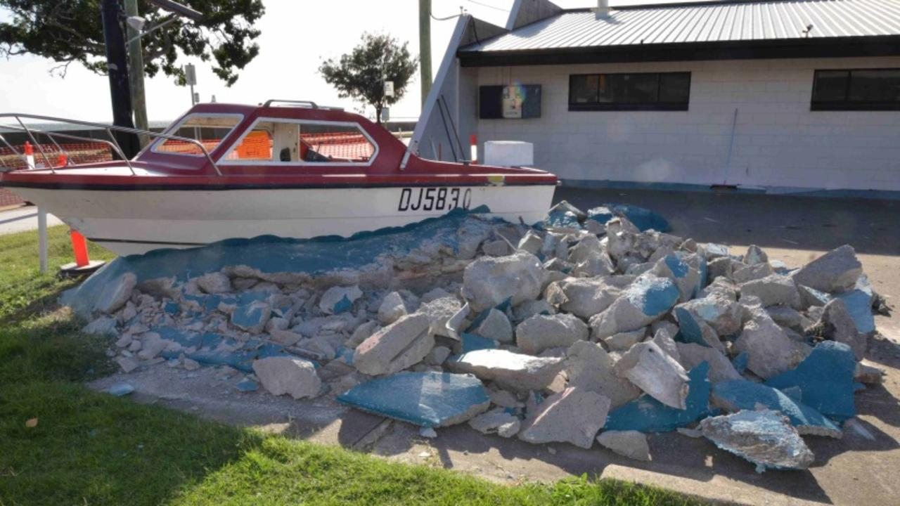 It was a two-year undertaking for volunteers to cut and remove the former shark show display, have it moved to the museum and fully restored.