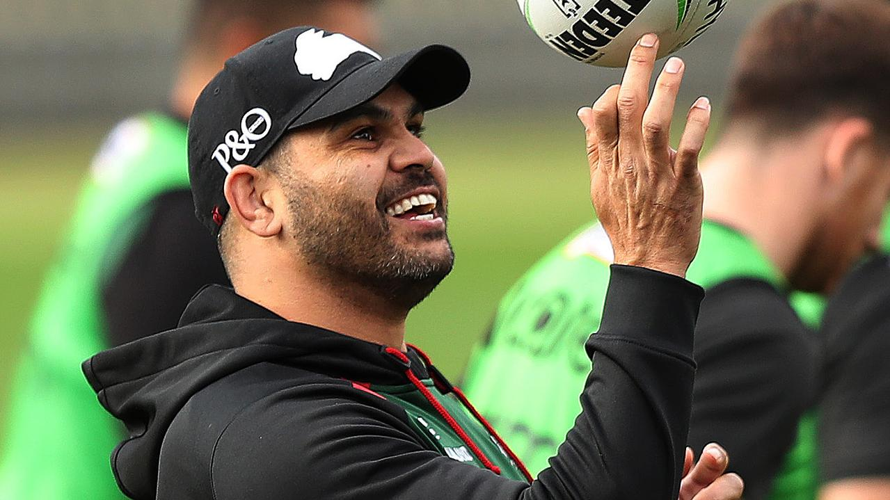 Inglis has remained part of the furniture at South Sydney. Photo: Brett Costello