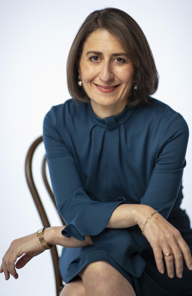 NSW Premier Gladys Berejiklian on Tuesday. Picture: Justin Lloyd