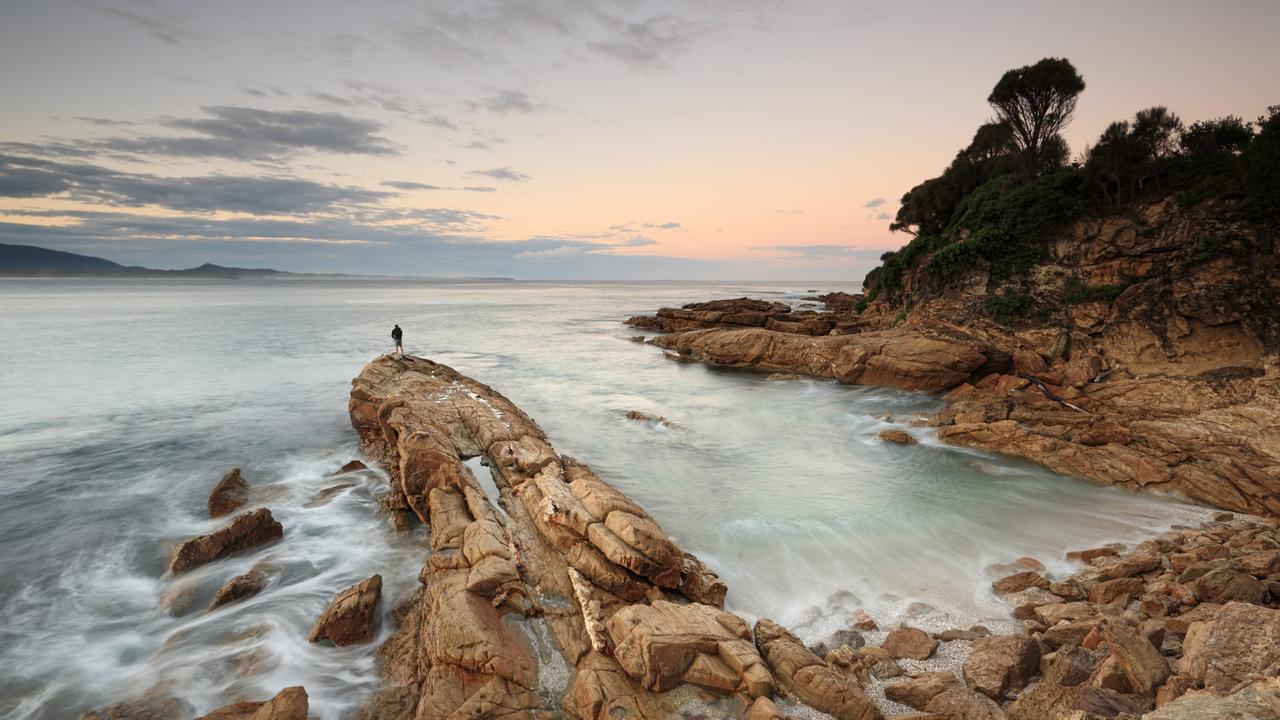 Dusk at Bermagui, on the NSW south coast NSW. Picture: Istock