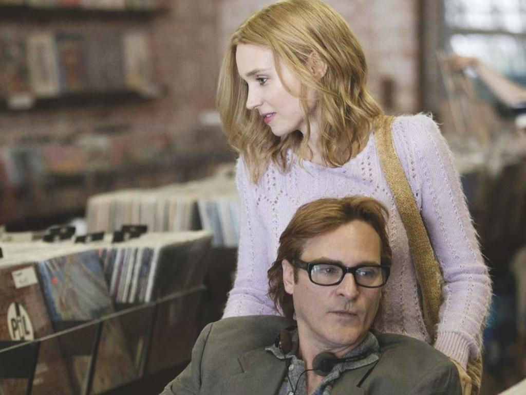 Joaquin Phoenix and Rooney Mara in the Gus Van Sant film 'Don't Worry, He Won't Get Far on Foot (2018). Picture: Scott Patrick Green / Amazon Studios