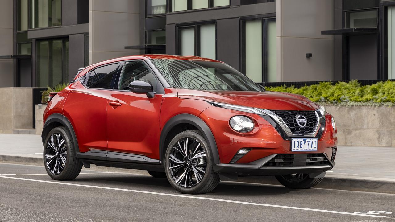 The Juke competes with the Mazda CX-3 and Toyota C-HR.