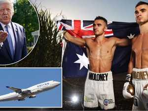 Trumped: How Aussie boxers beat COVID freeze for US entry