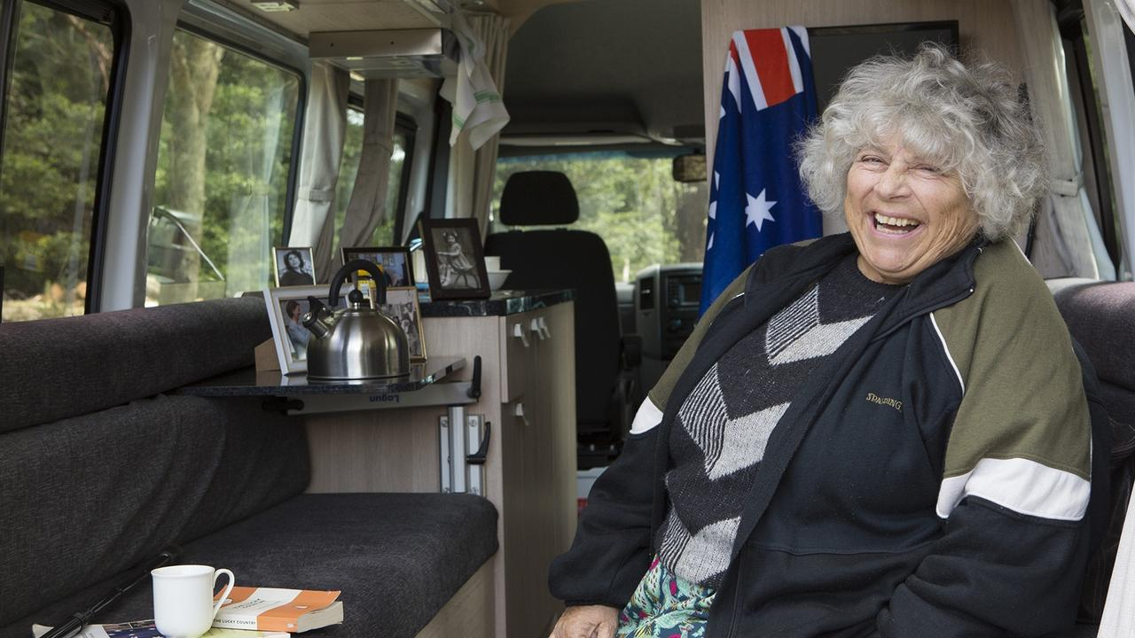 Margolyes appeared in ABC documentary, Almost Australian.