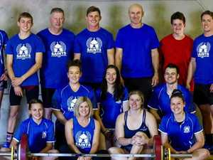Miles weightlifters keep lifting through isolation