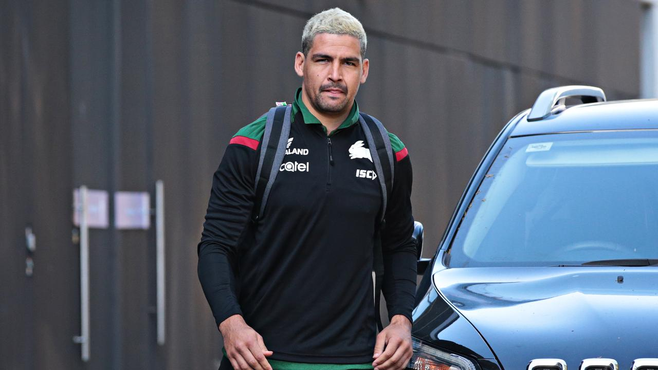 Cody Walker at Rabbitohs HQ. Picture: Adam Yip