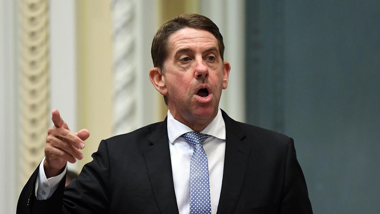Queensland Treasurer Cameron Dick says NSW has no right to lecture the state on border closures. Picture: AAP Image/Dan Peled