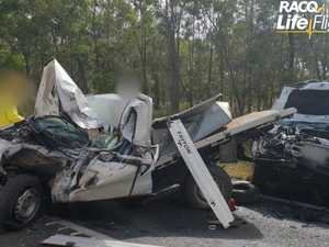 UPDATE: Two hospitalised after horror highway collision