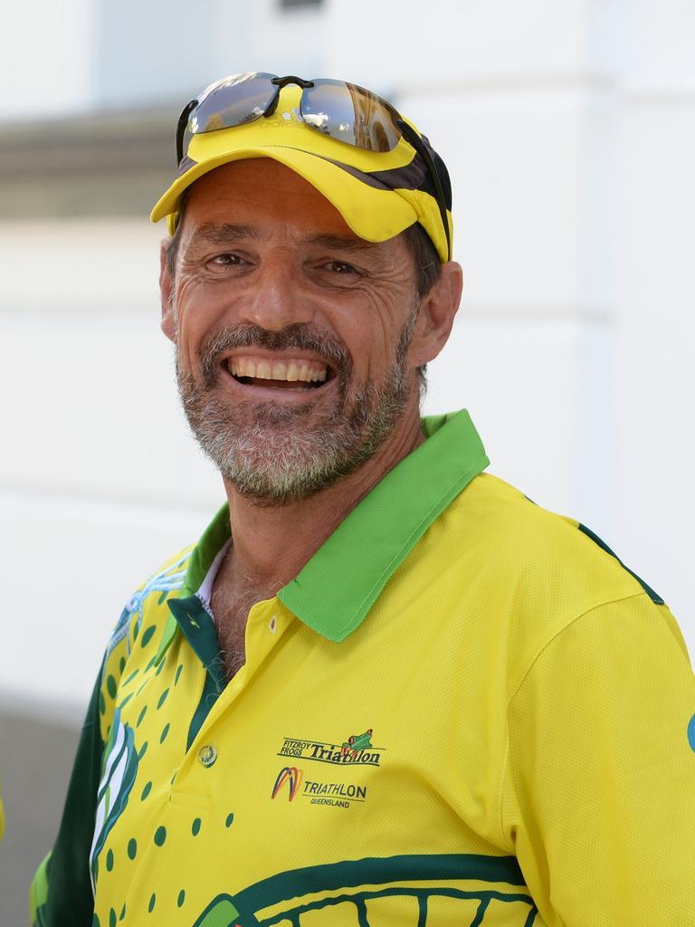 Fitzroy Frogs Triathlon Club president Craig McCormack.