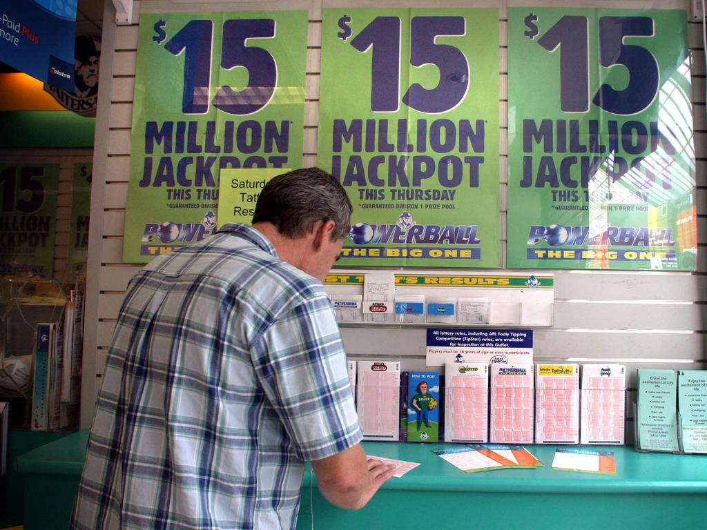 The Mackay region has had the most amount of lotto wins in Qld so far this year.