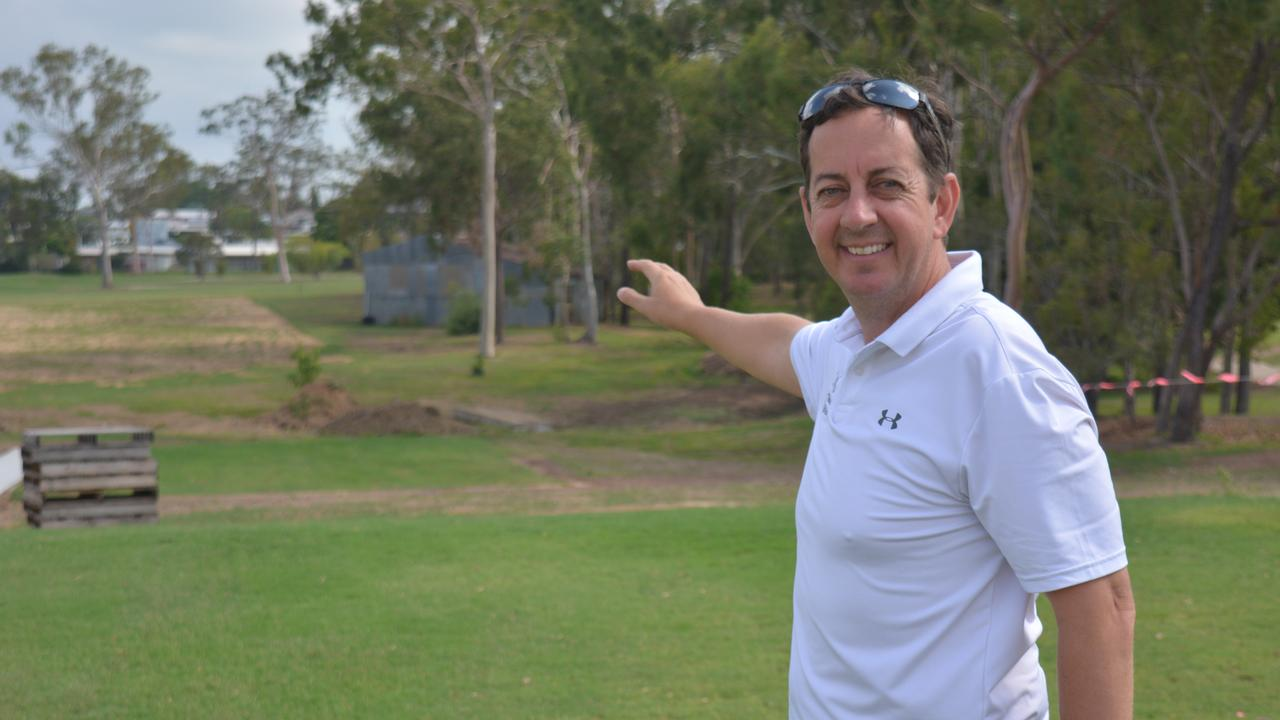 NEW DIRECTION: Gladstone GC new Director of Golf Kane Nusteling. PICTURE: Nick Kossatch