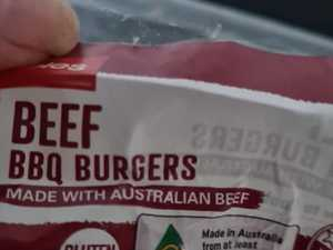 Coles shopper roasted over burger gripe