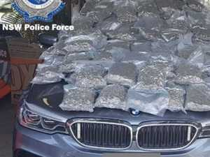 Man accused of transporting 66kg of drugs faces court