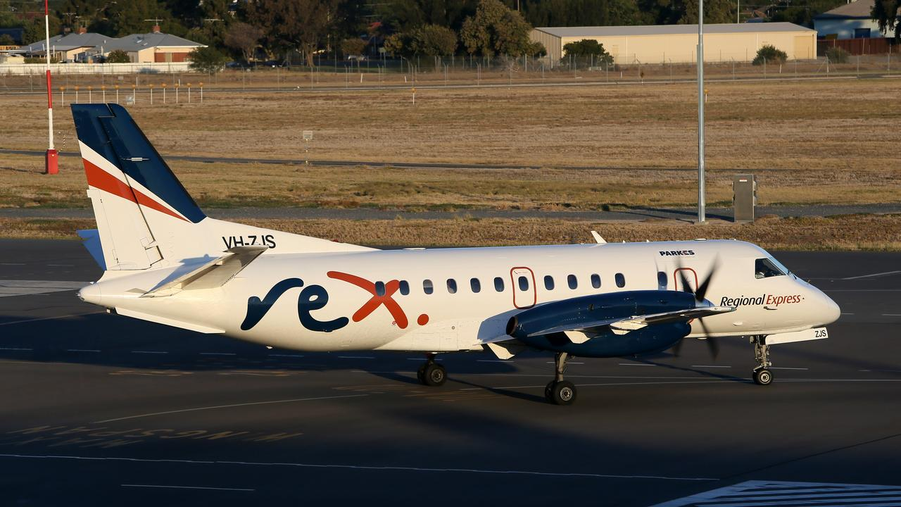 REX airlines have asked for more financial support from Clarence Valley Council. (AAP/Emma Brasier)