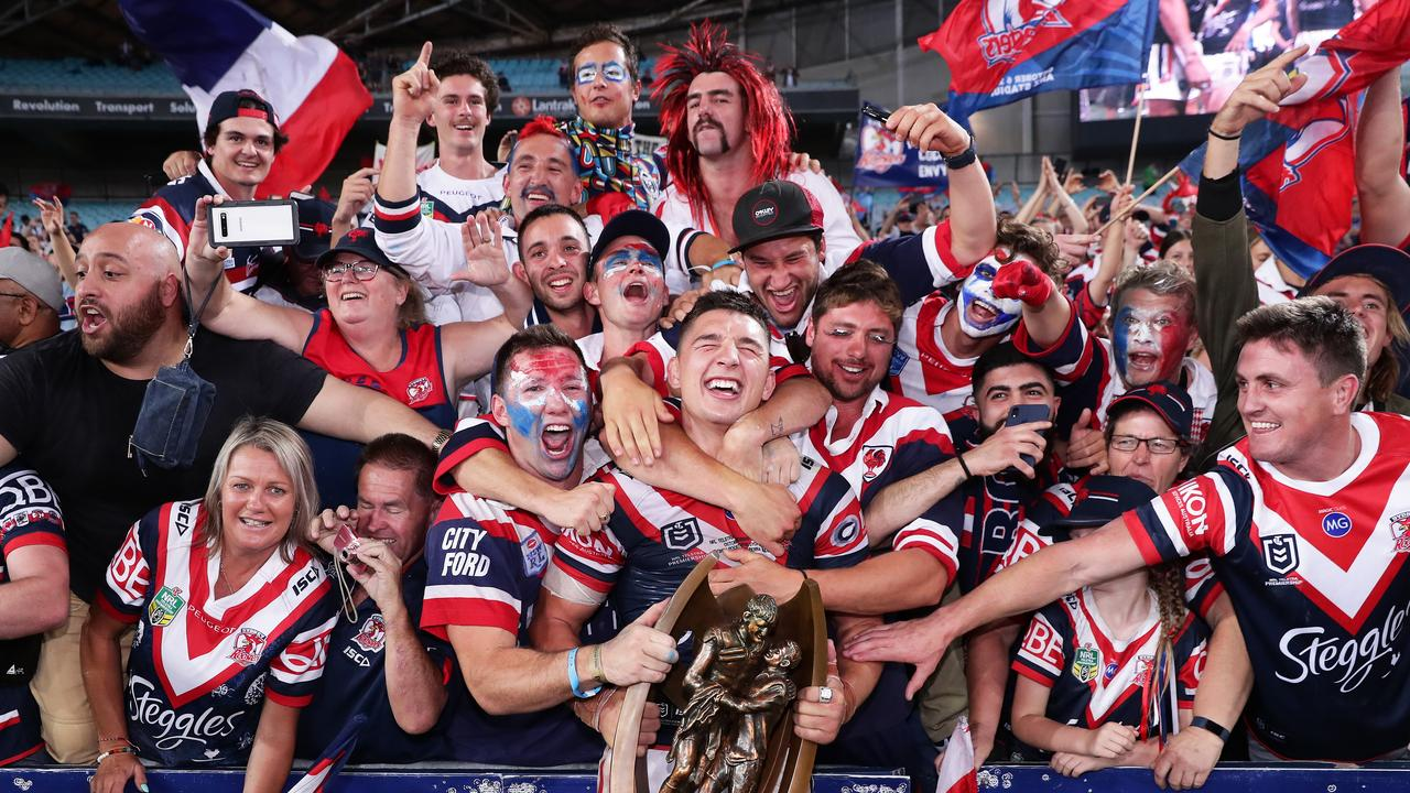 The team everyone wants to avoid... back-to-back premiers the Sydney Roosters. Picture: Getty