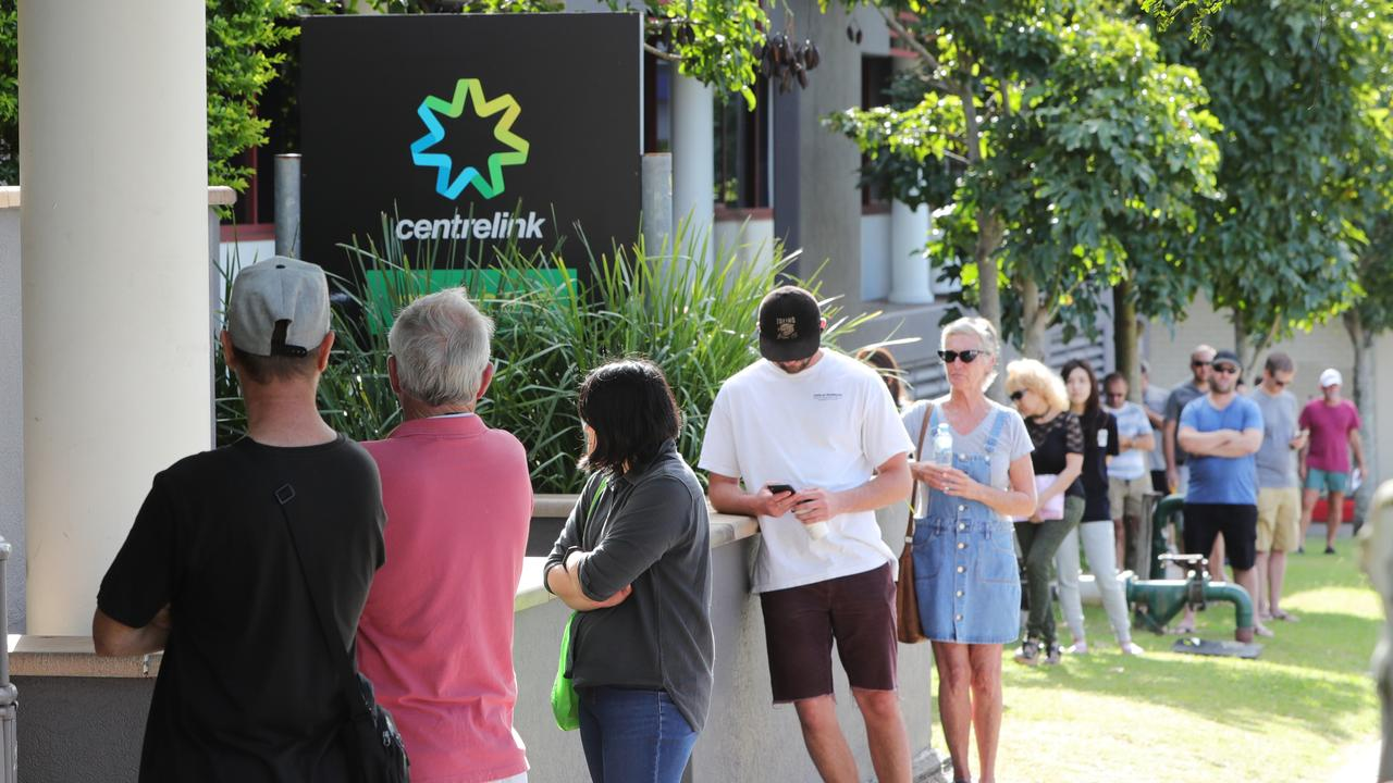 Young people have been especially hard-hit by coronavirus job losses. Picture: Glenn Hampson
