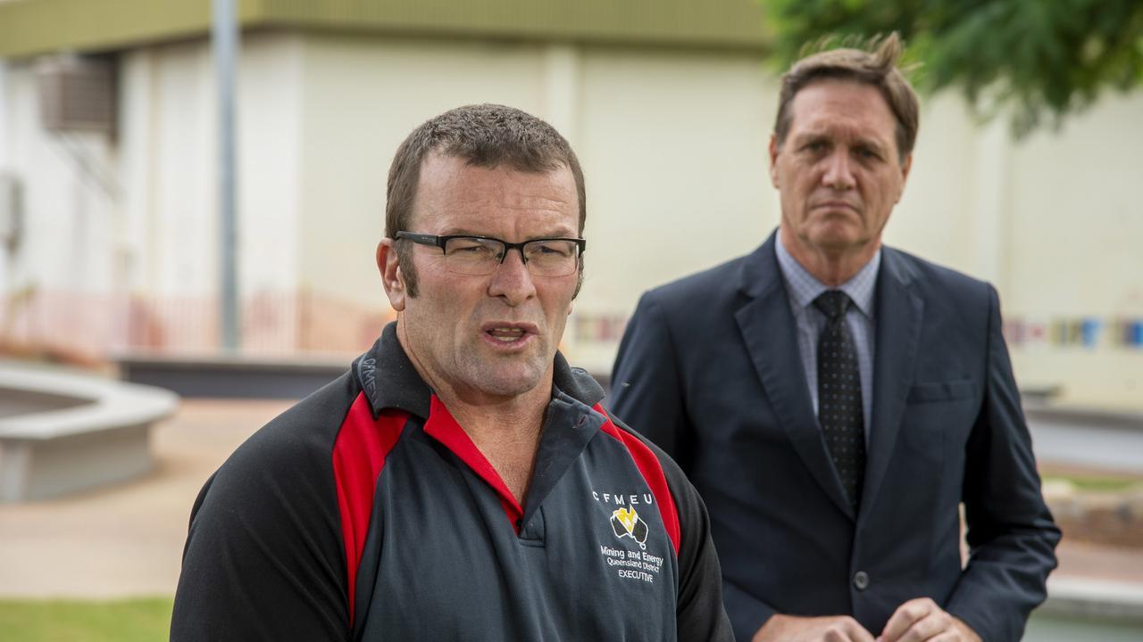 Stephen Smyth and Dr Anthony Lynham. Photo: Daryl Wright