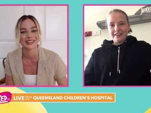 Margot Robbie's special virtual visit