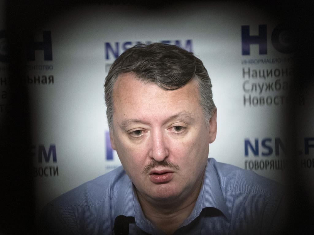 Igor Girkin, also know as Igor Strelkov, was the former military chief for Russia-backed separatists in eastern Ukraine. Picture: AP
