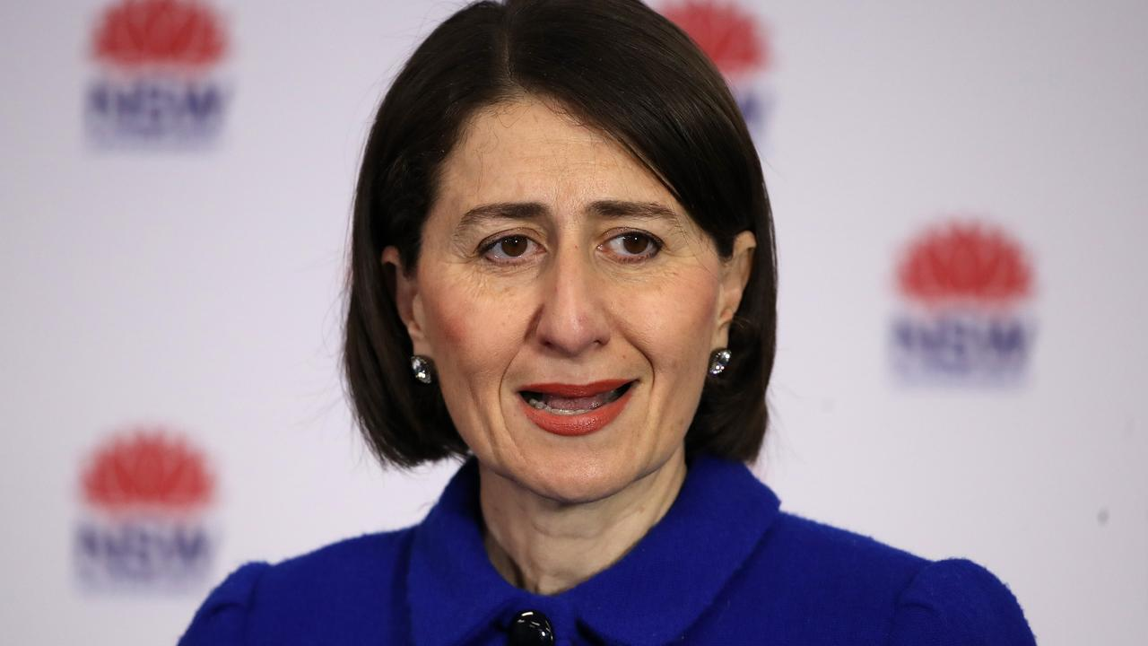 Premier Gladys Berejiklian said there may still be individual school closures over the next few weeks if students contract the virus. Picture: Mark Kolbe/Getty Images