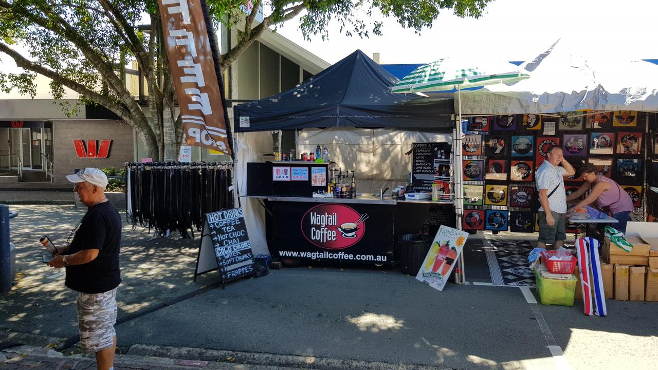 FILE: The Caloundra Street Fair is reopening this Sunday with a new layout enabling free flowing movement in line with social distancing requirements. Photo: File
