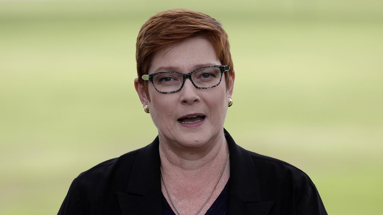 FAKE NEWS: Australian Foreign Minister Marise Payne.