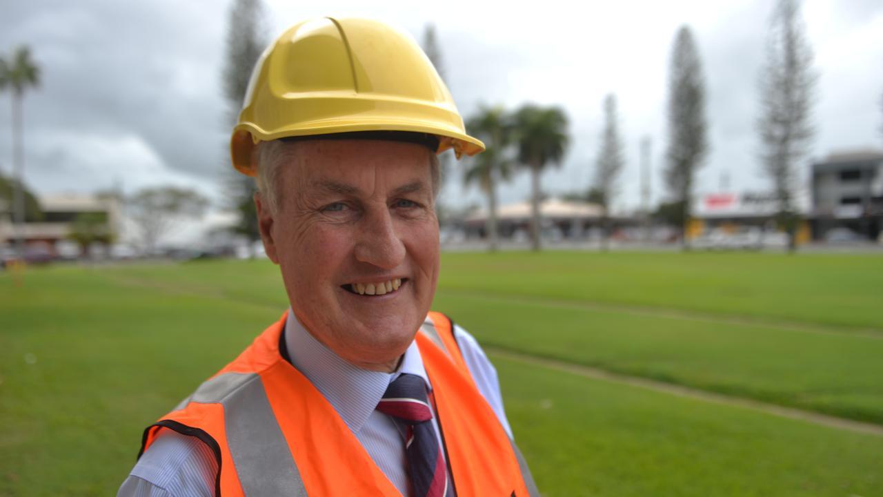Mackay Mayor Greg Williamson says $90.5 million worth of shovel-ready developments in the region are ready to go. Photo: Zizi Averill