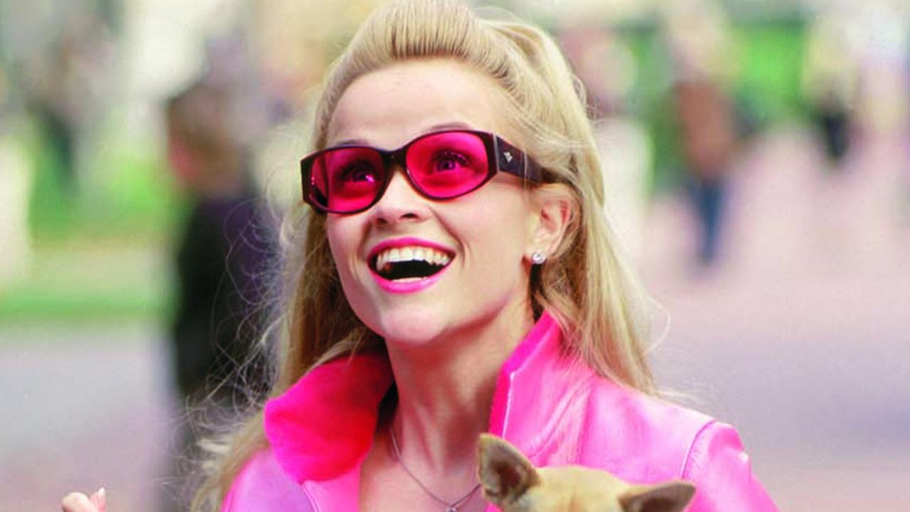 Reese Witherspoon in scene from film 'Legally Blonde.