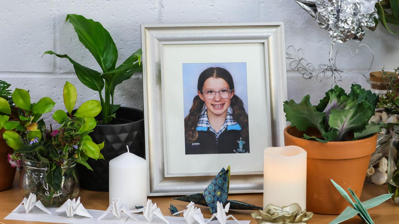 Sienna Walker-Brown's school is planning to honour the memory of the much-loved student with a permanent memorial. The Year 6 girl died after a brain aneurysm.