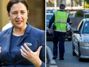 'Don't put words in my mouth': Palaszczuk erupts over border