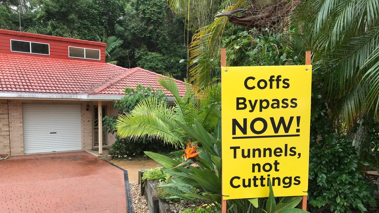 DON'T DELAY: The Coffs Bypass Action Group wants to see a new concept plan reflecting Mr Singh's commitment tunnels.