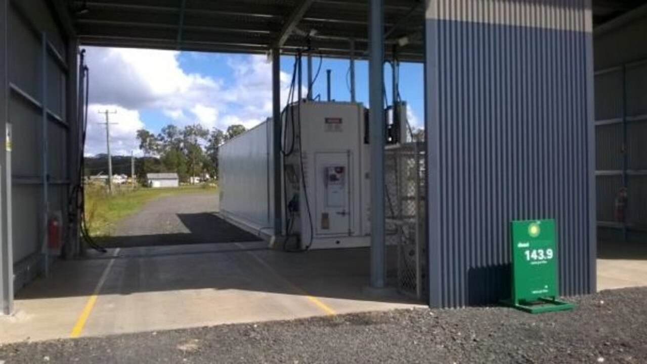 NEW PUMP: Councillors will decide on whether to allow retail fuel sales from a fuel depot in Townsend next week.