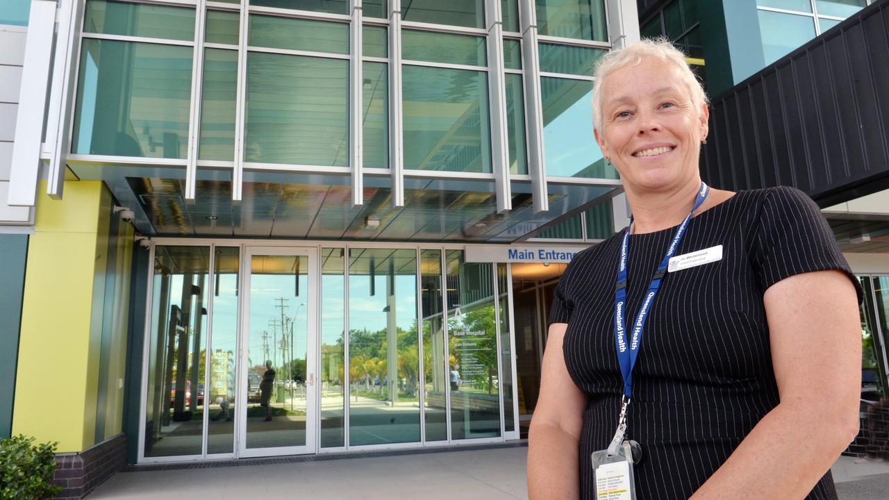 Mackay Hospital and Health Services chief executive Jo Whitehead. Picture: Tony Martin