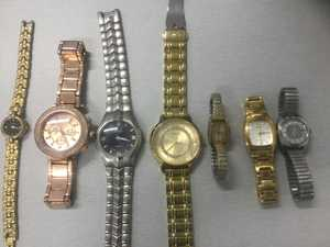 PHOTOS: Police uncover massive stash of suspected stolen property