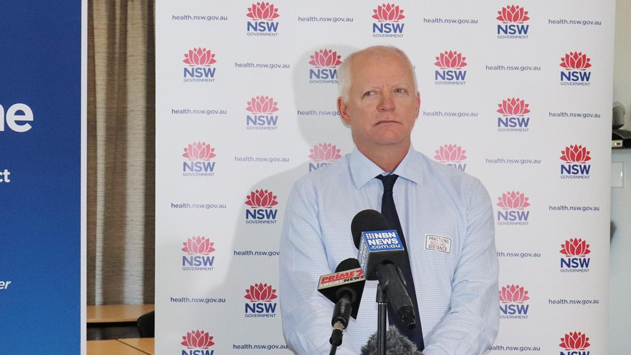 IT'S NOT OVER: NNSWLHD chief Wayne Jones urges the community to maintain social distancing as pandemic isolation restrictions ease.