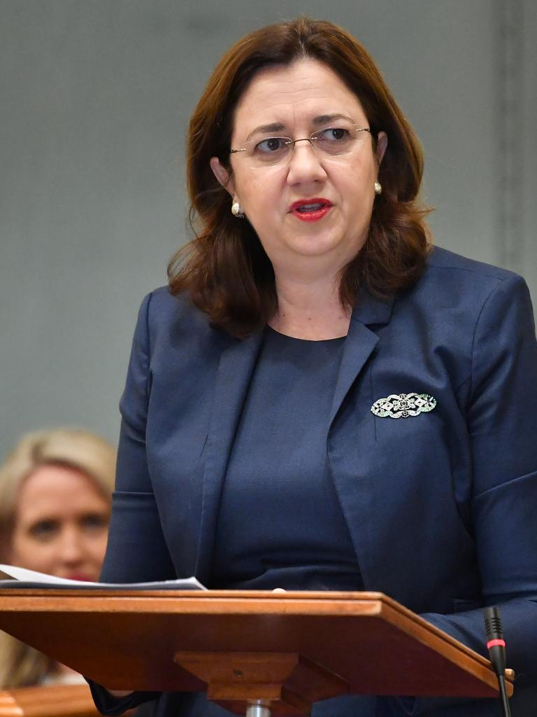 Queensland Premier Annastacia Palaszczuk's decision to keep the border shut has been criticised as harming the state's economy.
