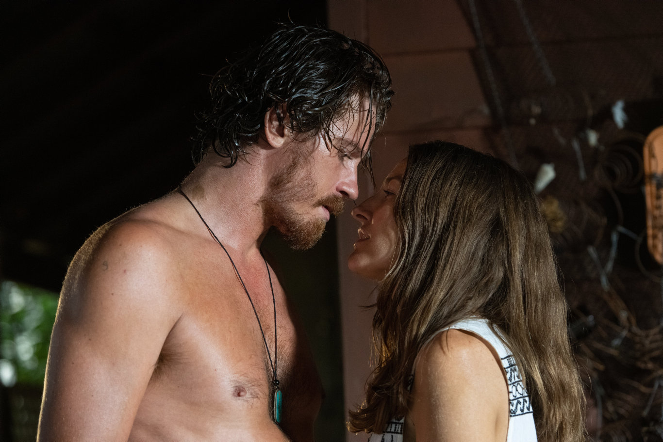 Garrett Hedlund and Kelly Macdonald star in Dirt Music.